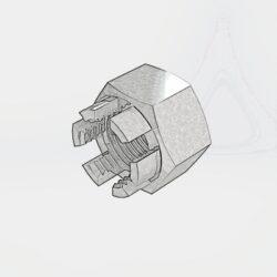 Гайки ГОСТ 5918-73 шестигранные