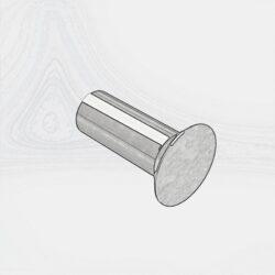 Заклёпки с потайной головкой ГОСТ 10300-80
