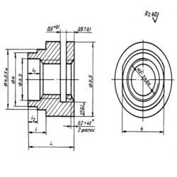 Втулки резьбовые ОСТ 1 12113-75