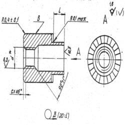 Втулки резьбовые ОСТ 4Г 0.822.005-73