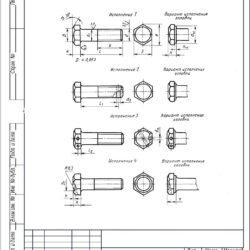 Болты ГОСТ 7805-70