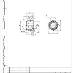Гайки накидные ОСТ 1 10315-72